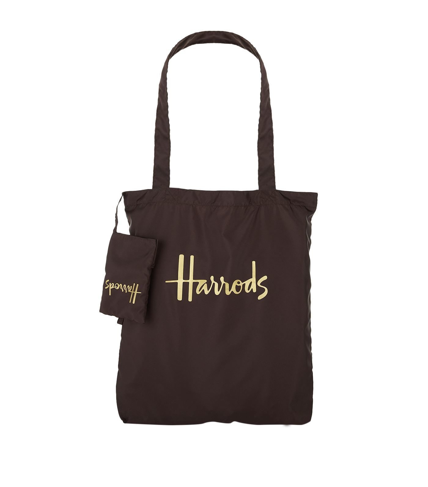 [Harrods] ハロッズ エコバッグ / 折りたたみ 収納袋付 ポケットショッピングバッグ