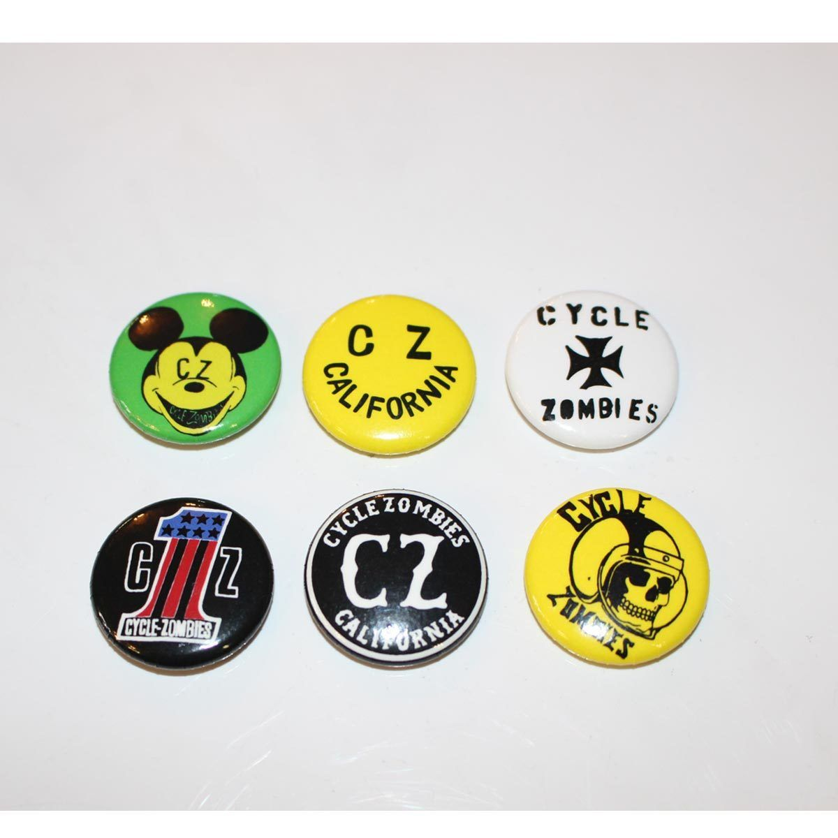 Cycle Zombies(サイクルゾンビーズ)CZ Assorted Pin Pack