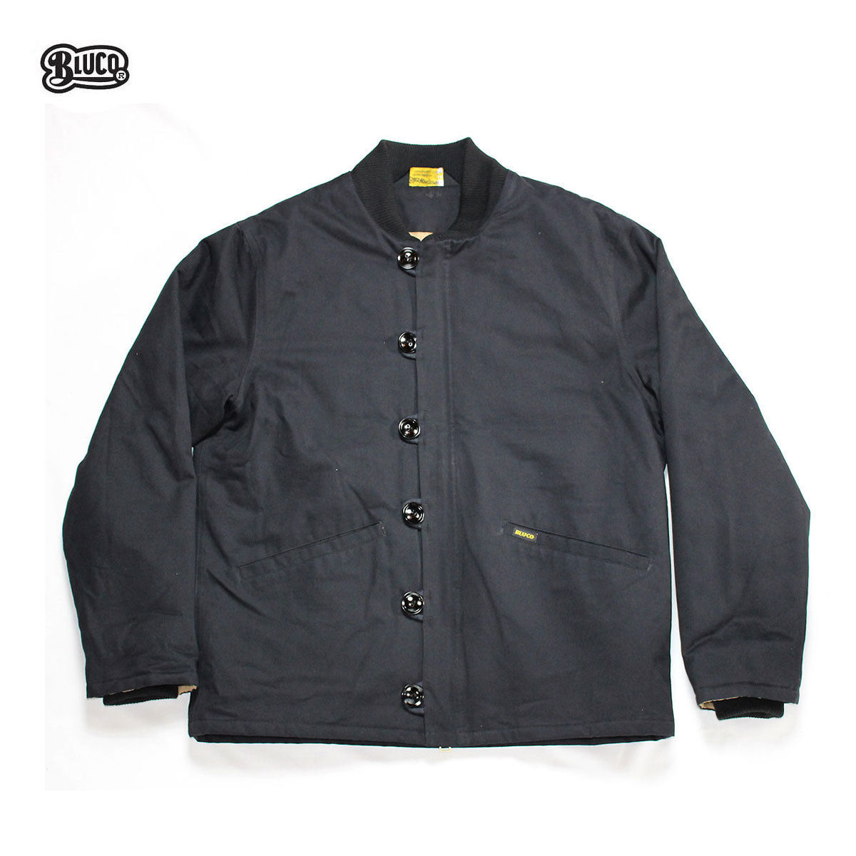 BLUCO(ブルコ) OL-057 M43LINER JACKET ブラック