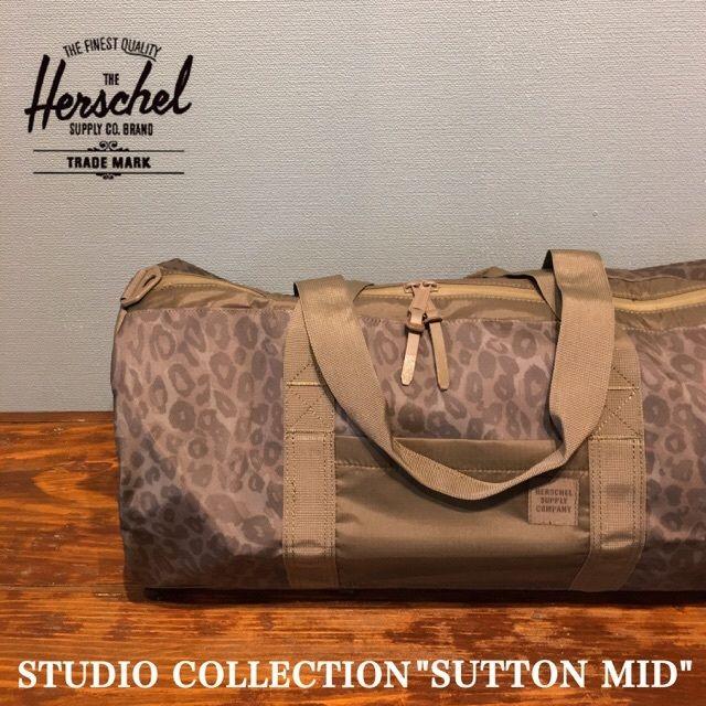 """Herschel """"STUDIO collection SUTTON MID"""" Cheetah Camo"""