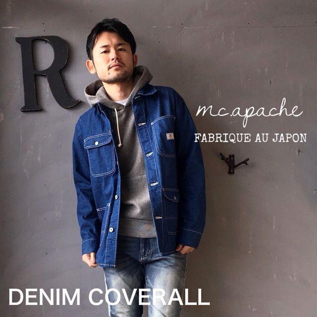 "m.c.apache ""DENIM COVERALL"" Blue"