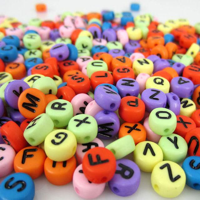 Alphabet Beads × 70piece