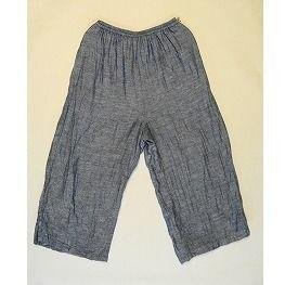 短めストレート パンツ