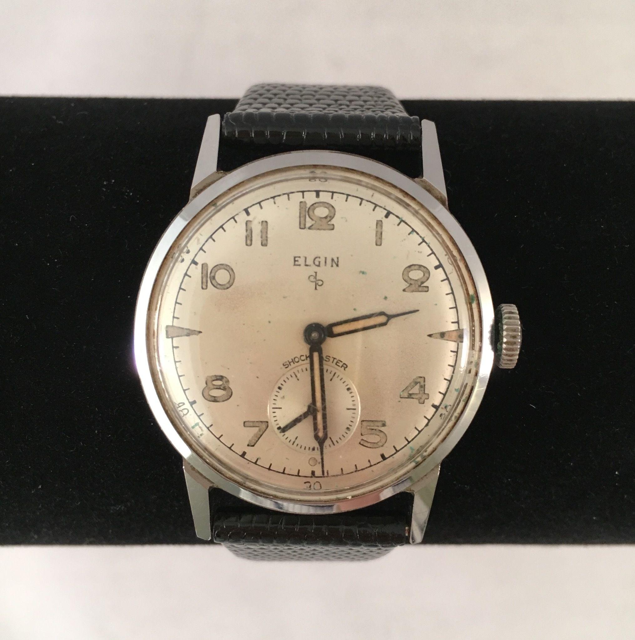 アンティーク時計 ELGIN (OLD&NEW)