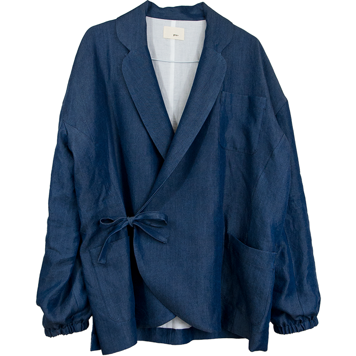 テーラードの作務衣