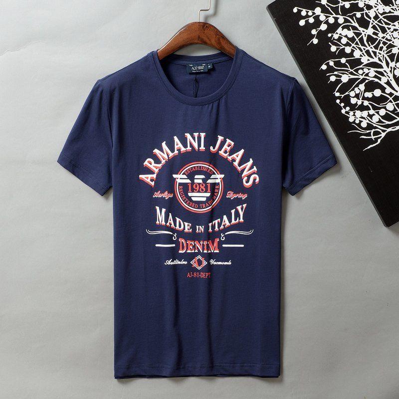 XO-4(3)?春夏【美品】ARMANI アルマーニ 人気ブランド メンズ 半袖/Tシャツ