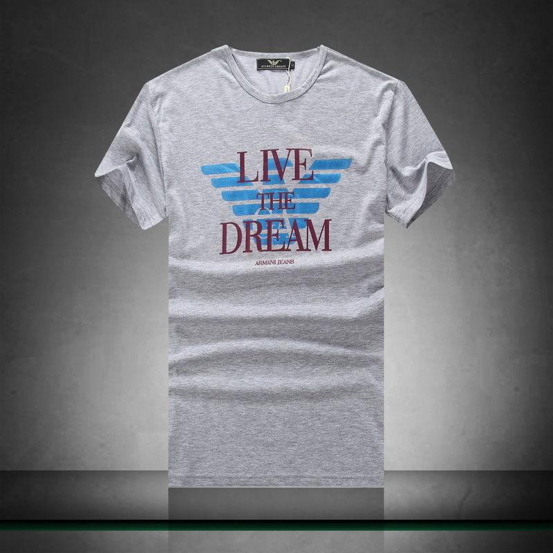 AD-9(7)?春夏【美品】ARMANI アルマーニ 人気ブランド メンズ 半袖/Tシャツ