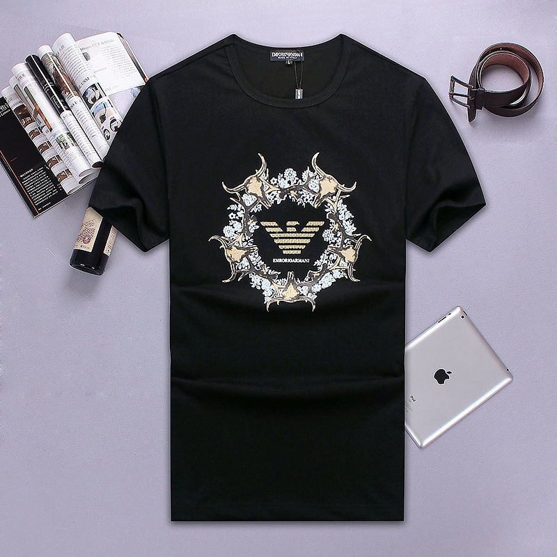 QH-61(2)★新品未使用 ARMANI アルマーニ メンズ トップス/半袖/Tシャツ 【夏物】