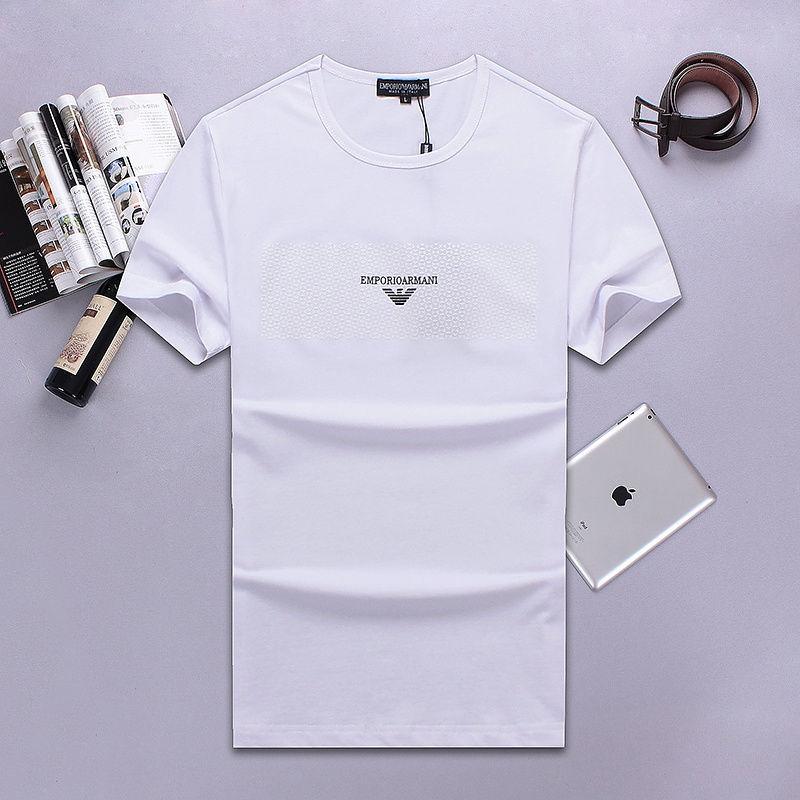 QH-63(2)★新品未使用 ARMANI アルマーニ メンズ トップス/半袖/Tシャツ 【夏物】