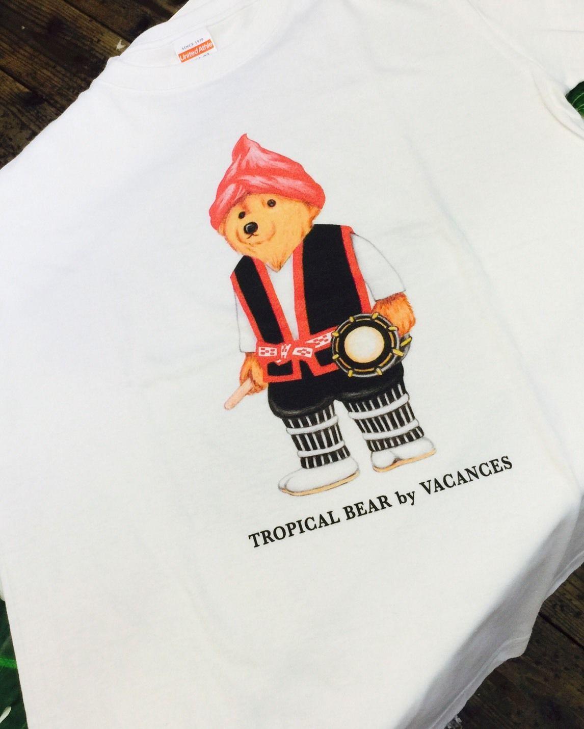 キッズ TROPICAL BEAR エイサー(白)