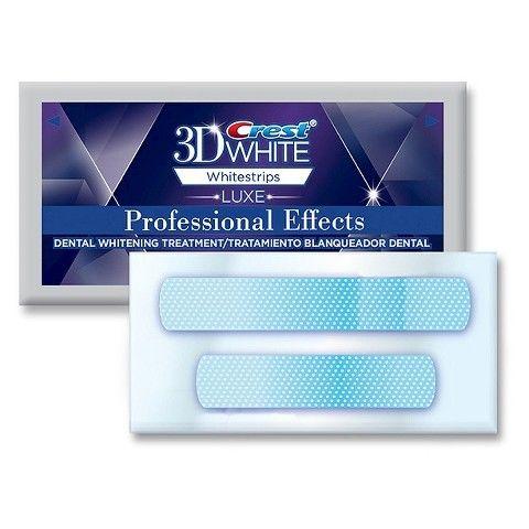 送料無料 お試しセット クレスト 3D ホワイトストリップ プロフェッショナルエフェクツ 10回分(20枚)otsh12131602