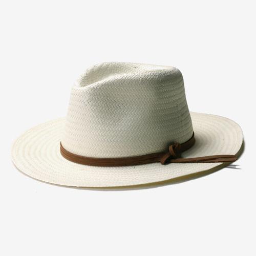 New York Hat NY HAT TOYO TRAVELR  (ニューヨークハットトーヨートラベラー ストローハット ナチュラル)#2323