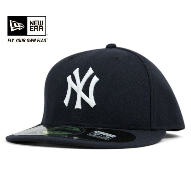 NEWERA 59FIFTY AUTHENTIC NEW YORK YANKEES NAVY(ニューエラ キャップ オーセンティック ニューヨーク ヤンキース ネイビー 帽子)