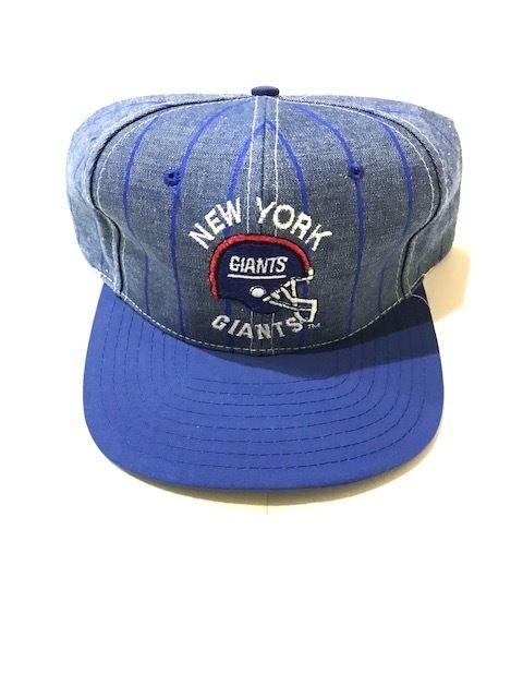 【DEAD STOCK】NFL NY GIANTS snap back ブルー×シャンブレー
