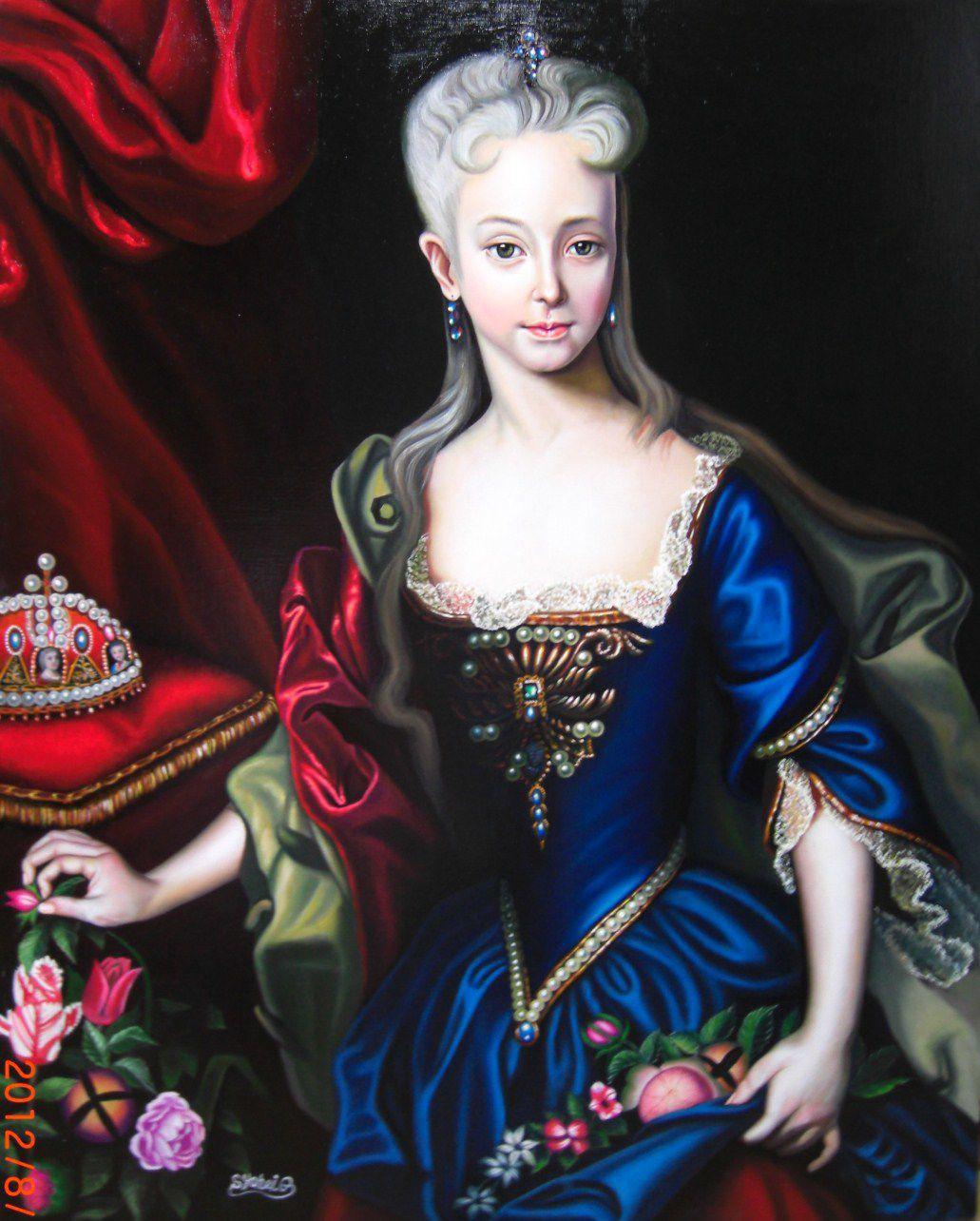 女帝マリアテレジア肖像画