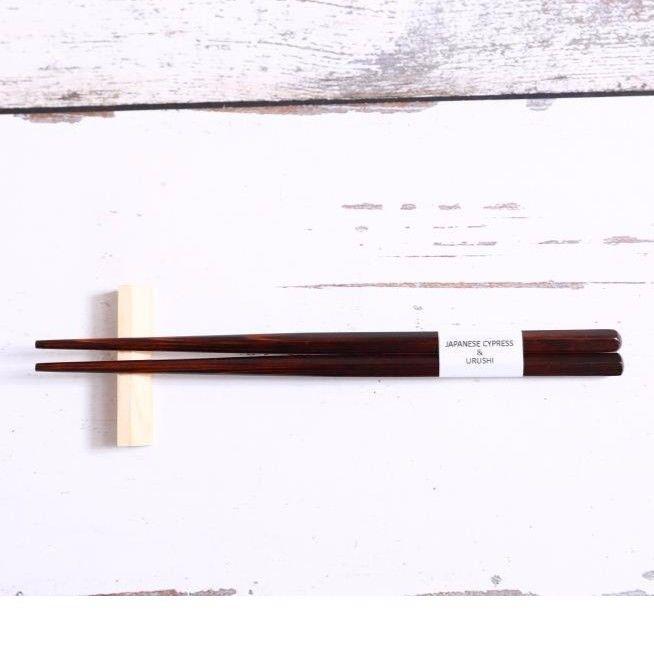 QuantoBasta 無添加箸 生漆 18cm