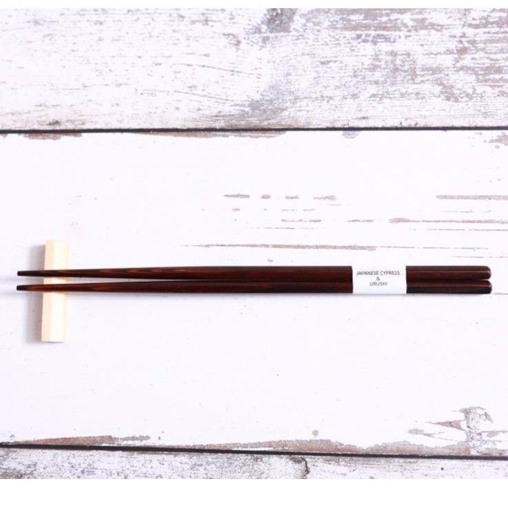QuantoBasta 無添加箸 生漆 23cm