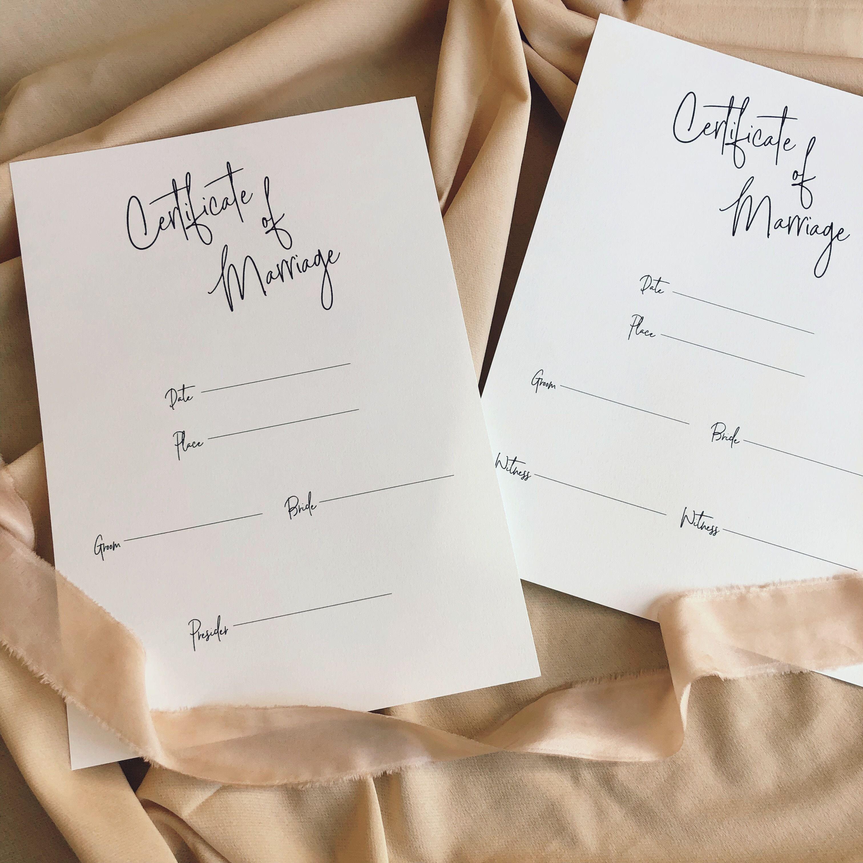 結婚証明書#9