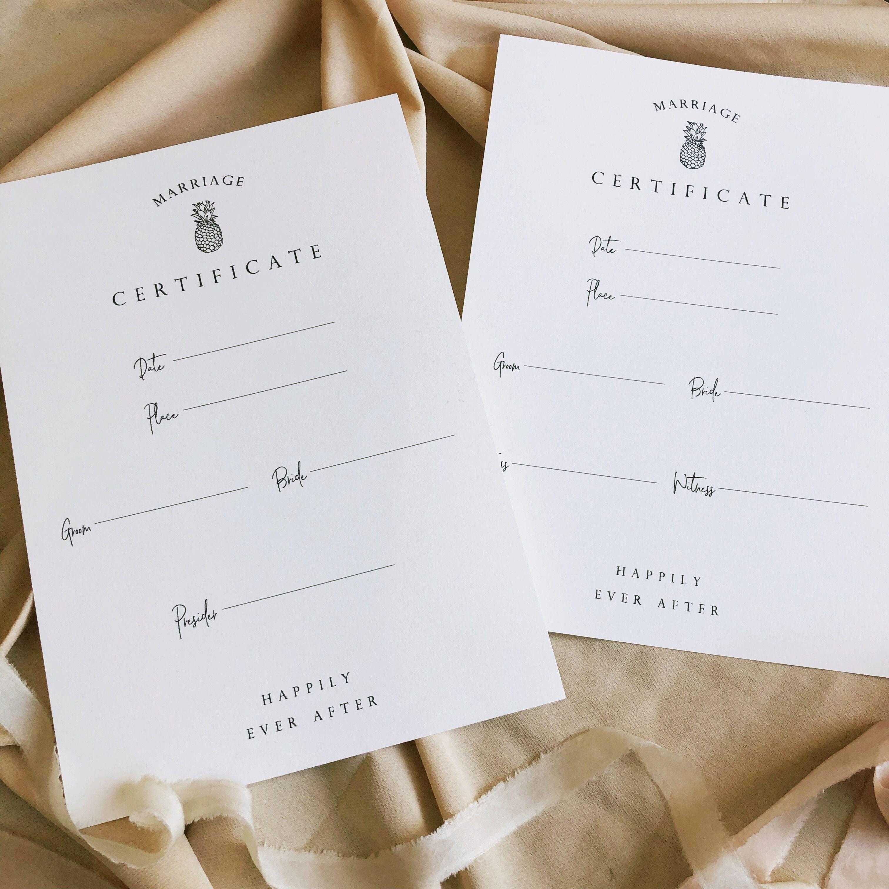 結婚証明書#5