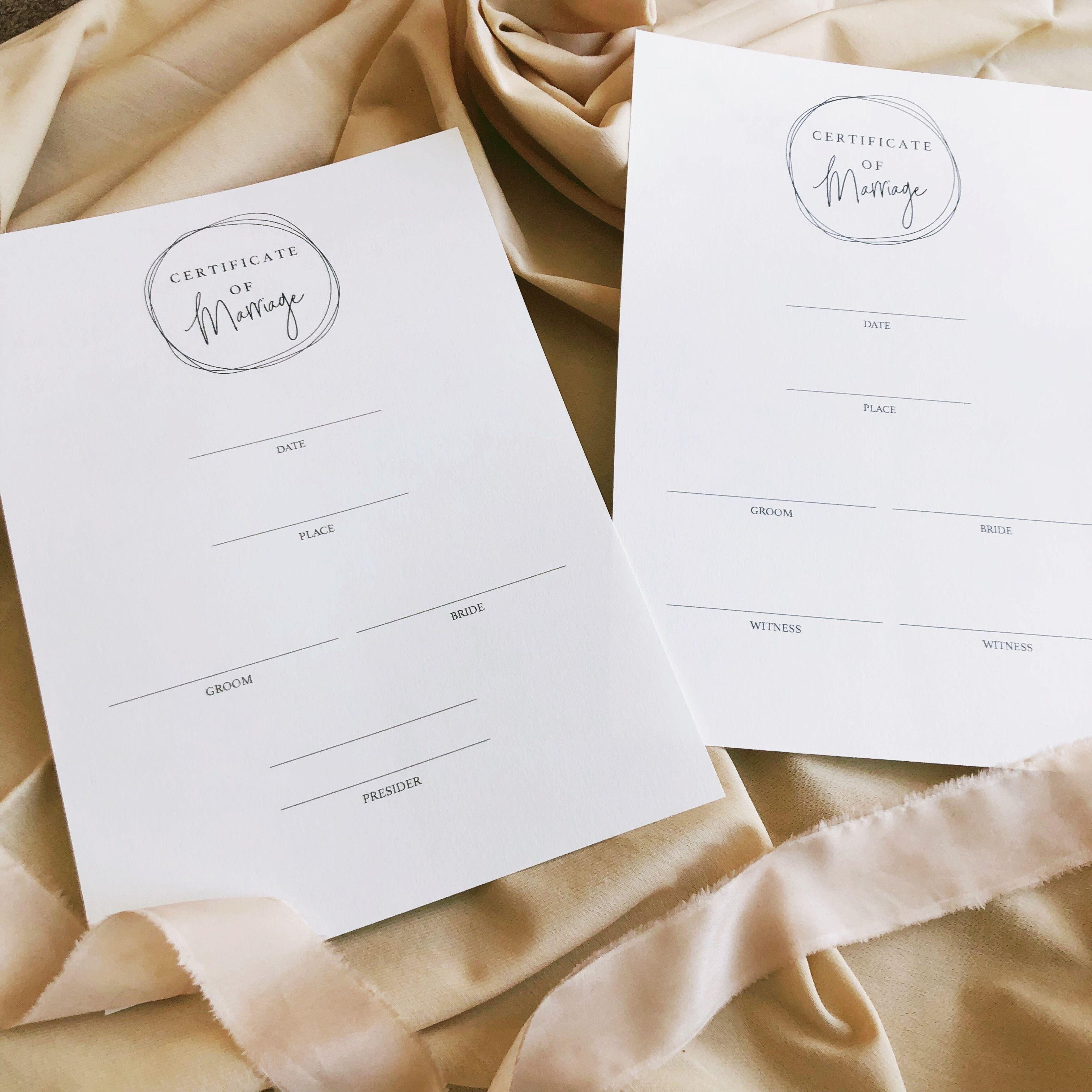 結婚証明書#4