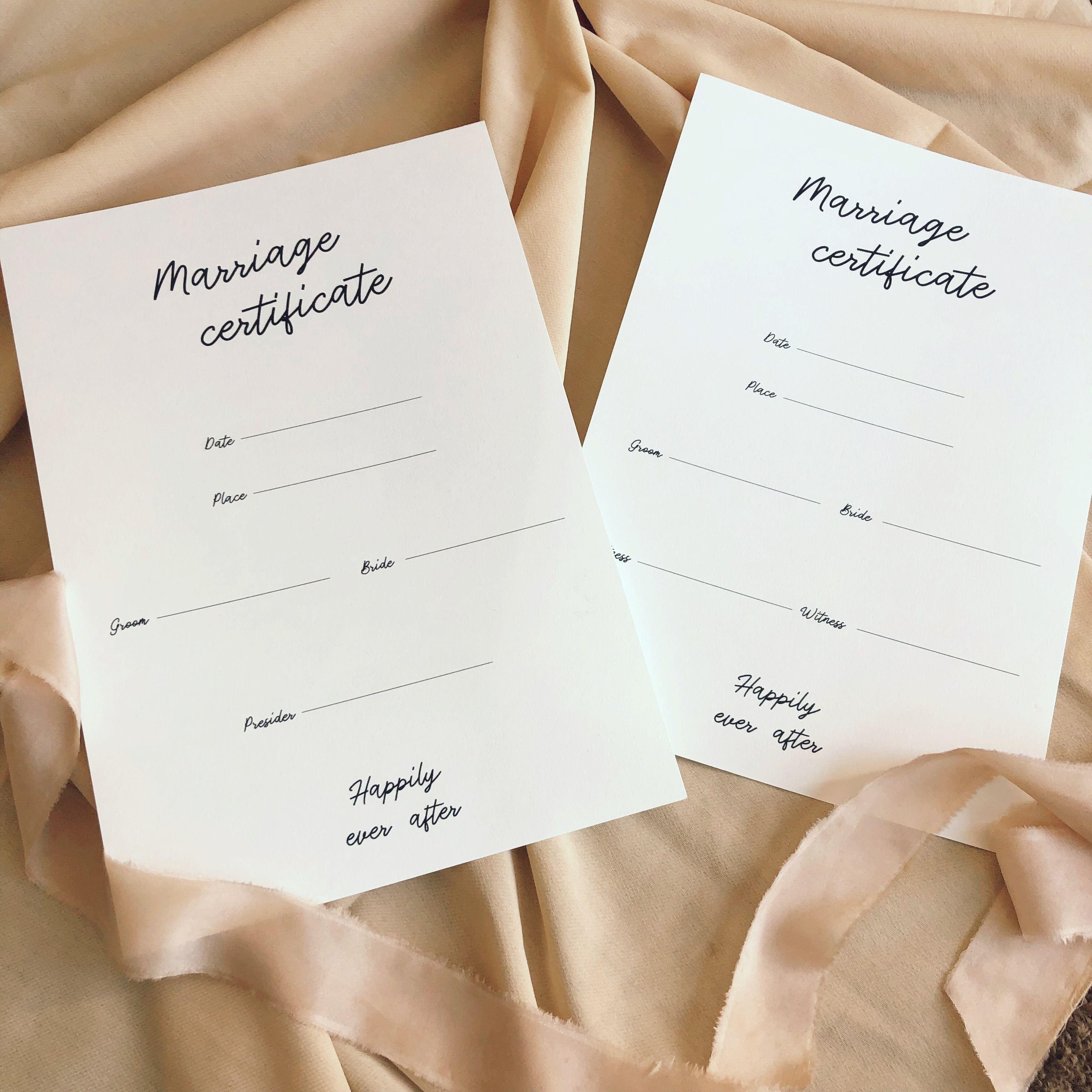 結婚証明書#3