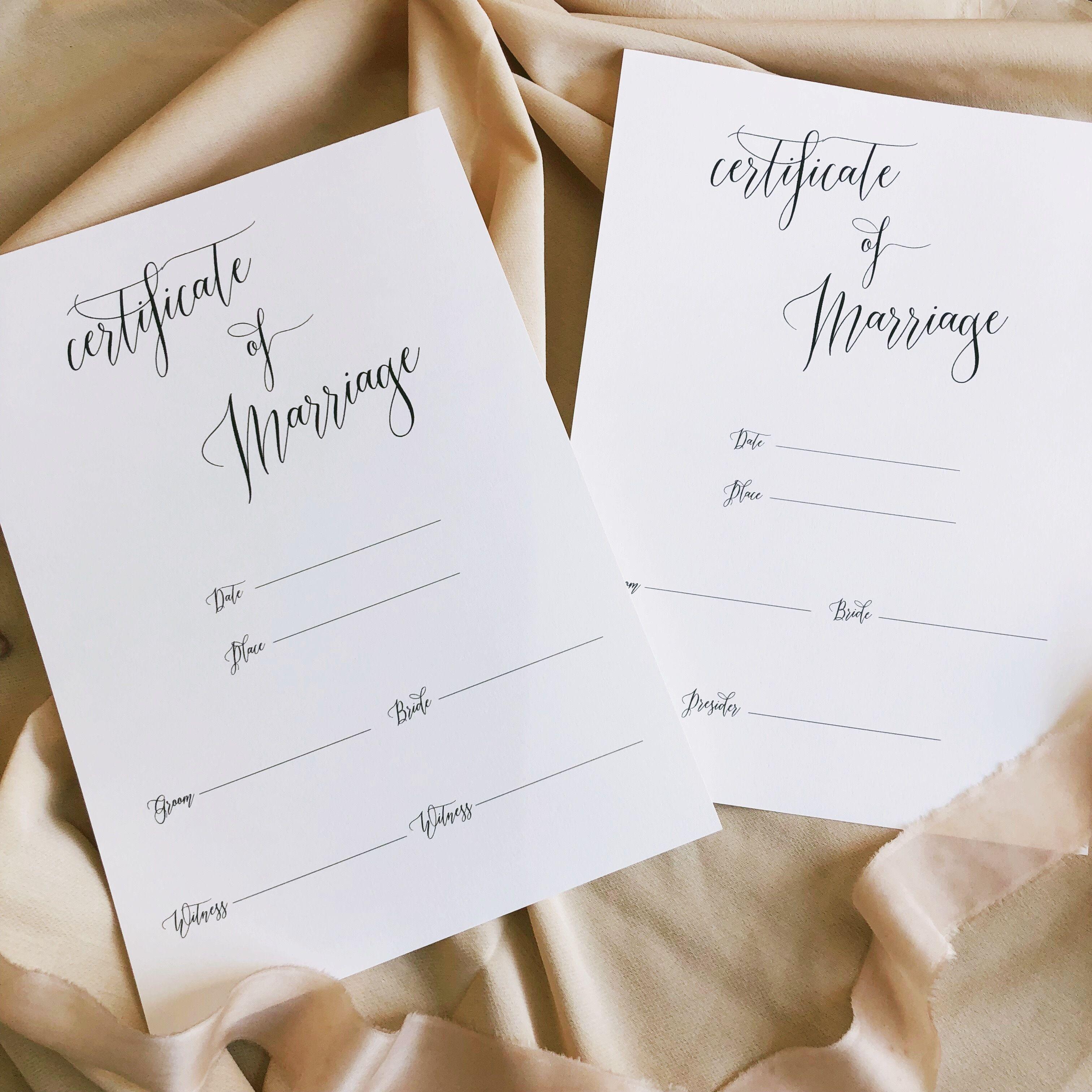 結婚証明書#2