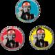 STRUMMER JAMMING! 2013 Button Badges