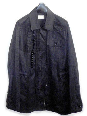 Re.Verofonna ミリタリーシャツジャケット(ブラック)