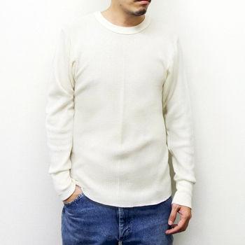 INDERA MILLS(インデラミルズ) サーマルロングTシャツ Gray/Natural