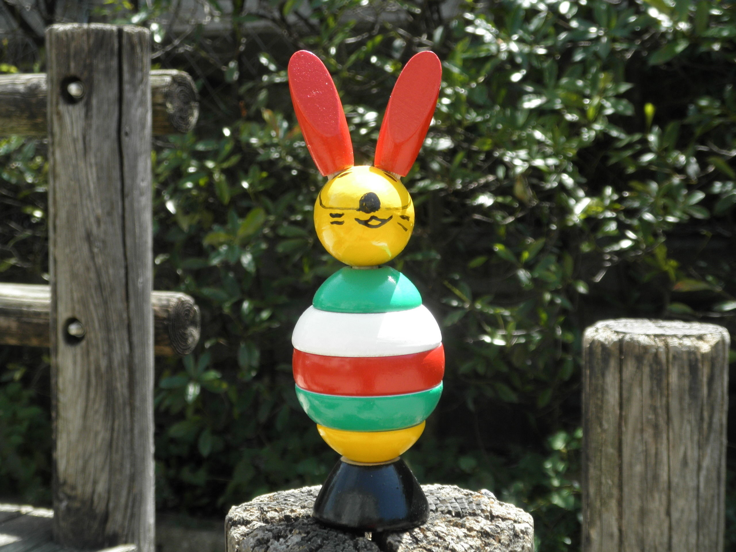 ノルウェー製手作りおもちゃ「ウサギ」