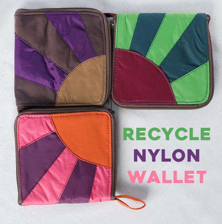 Recycle Nylon Wallet