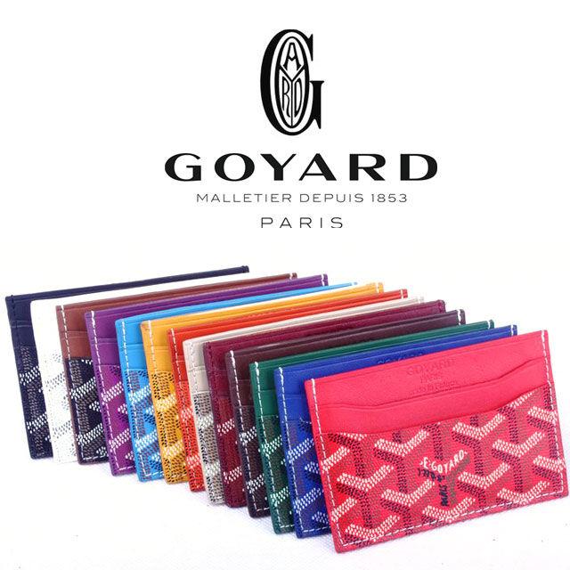 ★大人気★ゴヤール GOYARD カードケース goyard<gyd-jw6>