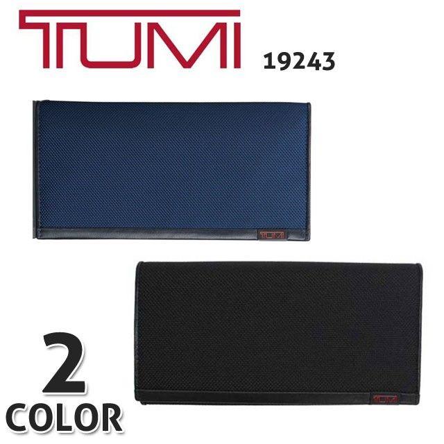 トゥミ TUMI 財布さいふ TUMIメンズ長財布 ブラック 19243