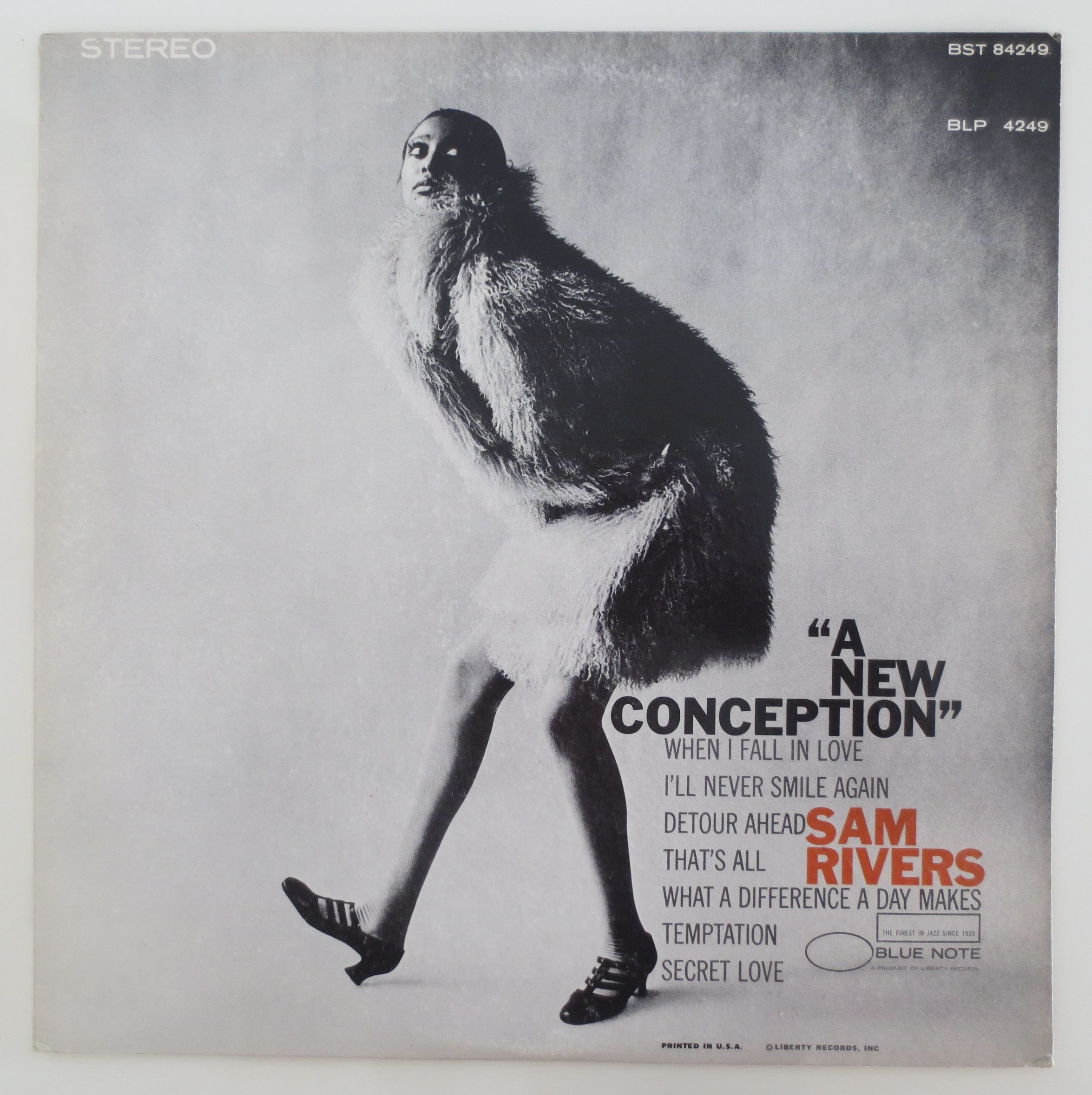 Sam Rivers ?- A New Conception(Blue Note ?- BST 84249)stereo