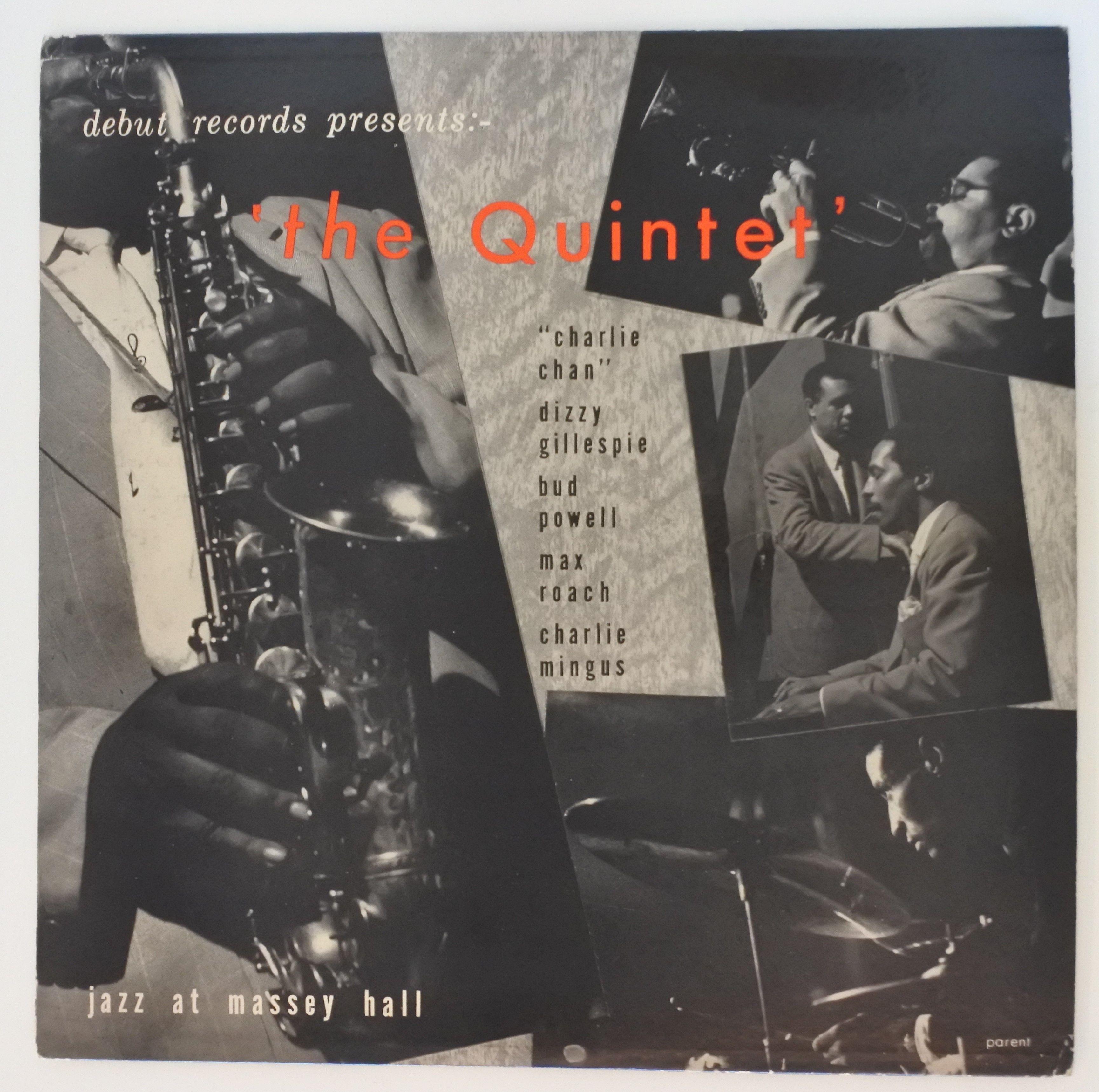 The Quintet ?- Jazz At Massey Hall(Debut Records ?- DEB-124)mono