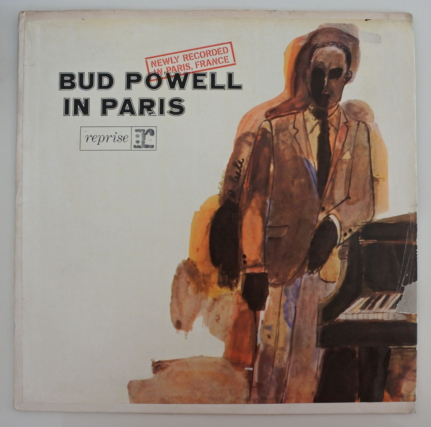 Bud Powell  ?- Bud Powell In Paris (Argentina  Reprise 12-473) mono