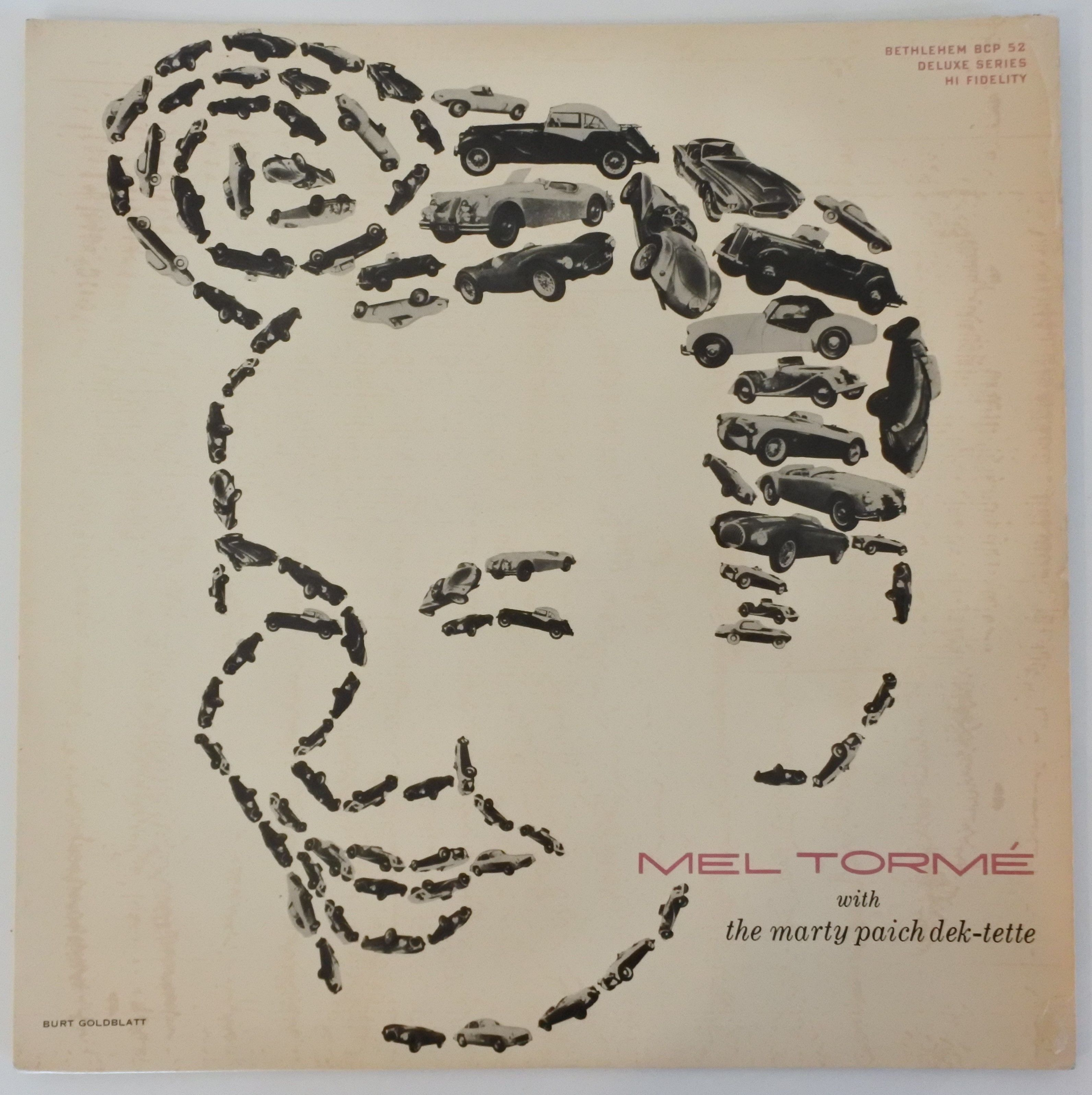 Mel Torm? With The Marty Paich Dek-Tette ?- Mel Torm?(Bethlehem Records ?- BCP 52)mono