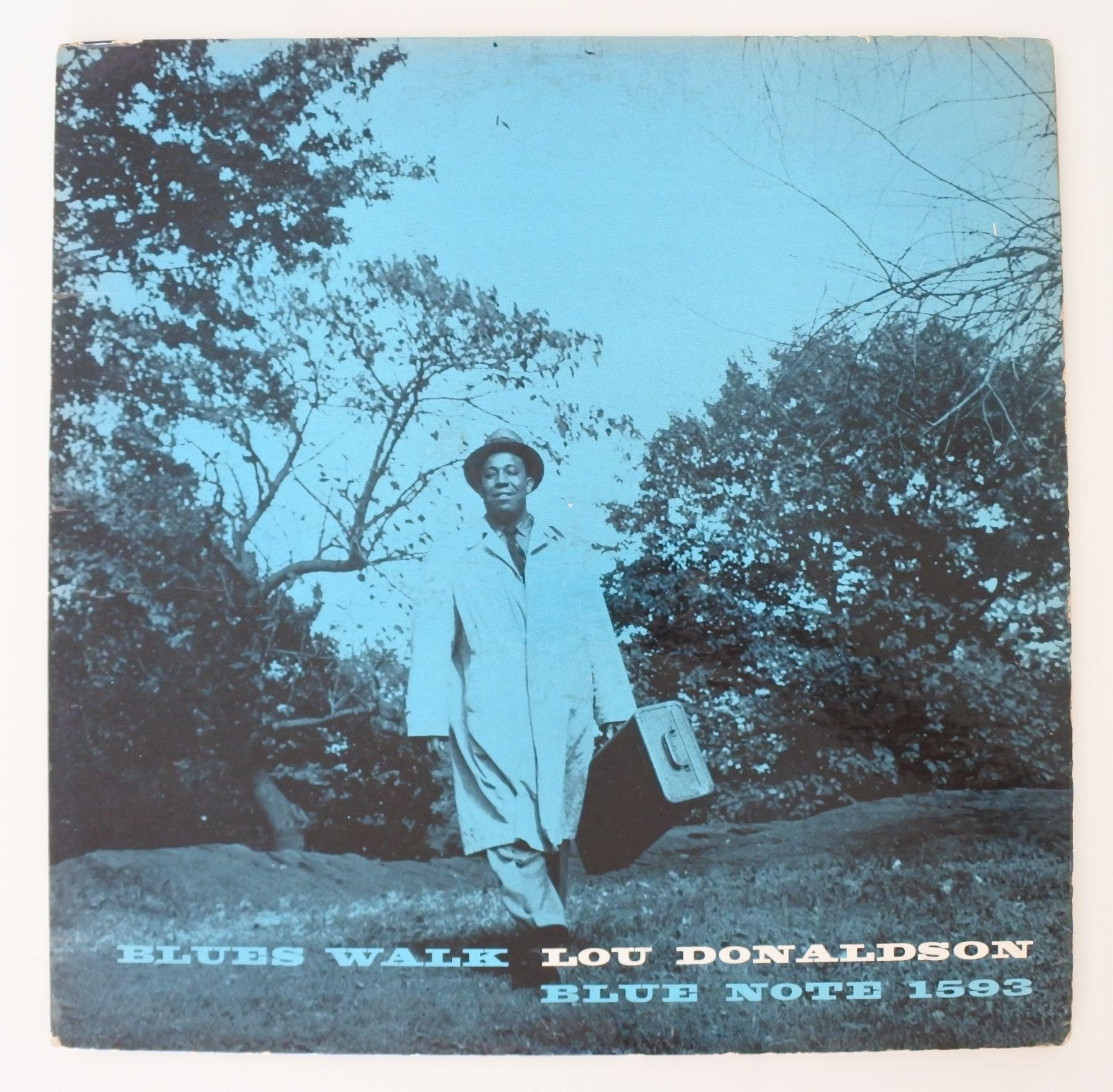 Lou Donaldson ?- Blues Walk(Blue Note ?- BLP 1593)mono