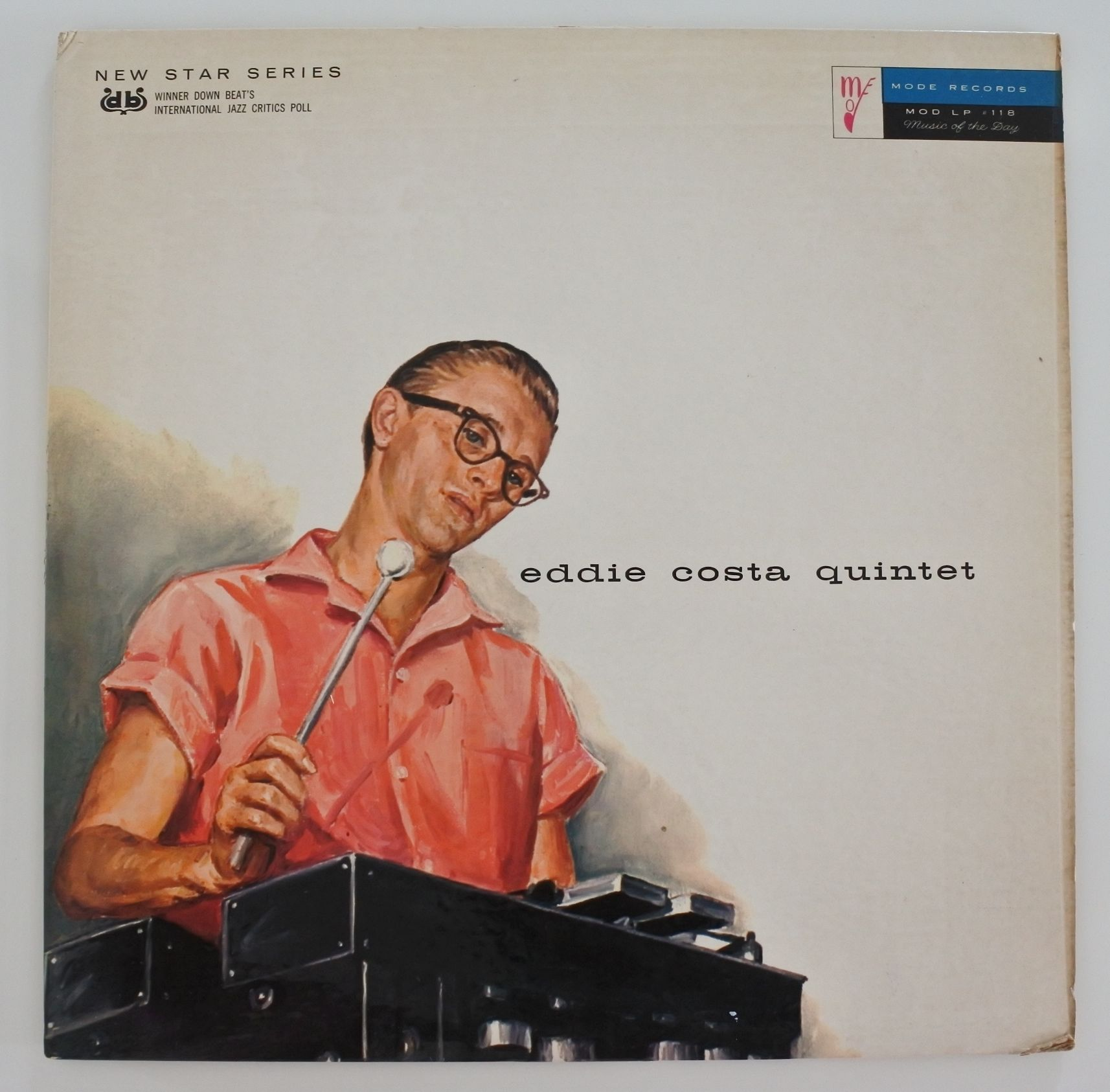 Eddie Costa Quintet  ?- Eddie Costa Quintet ( Mode Records MOD LP 118 ) mono