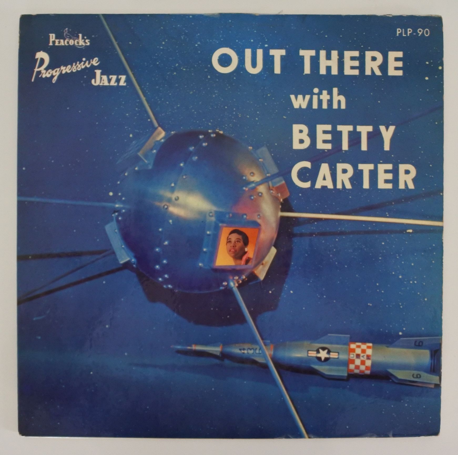 Betty Carter ?- Out There With Betty Carter(Peacock Records ?- PLP 90)mono