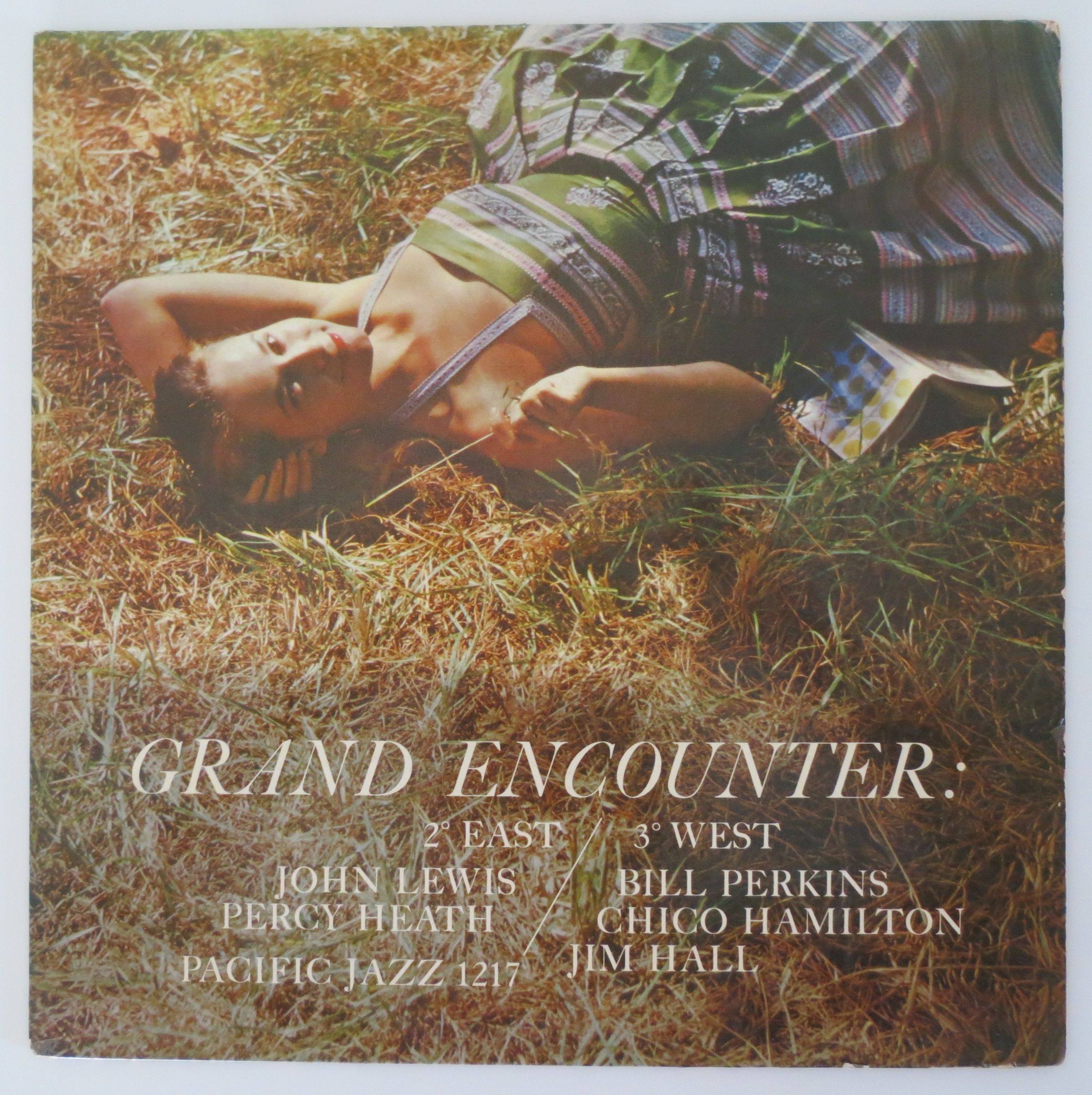 John Lewis ?- Grand Encounter: 2 Degrees East - 3 Degrees West(Pacific Jazz Records ?- PJ-1217)mono