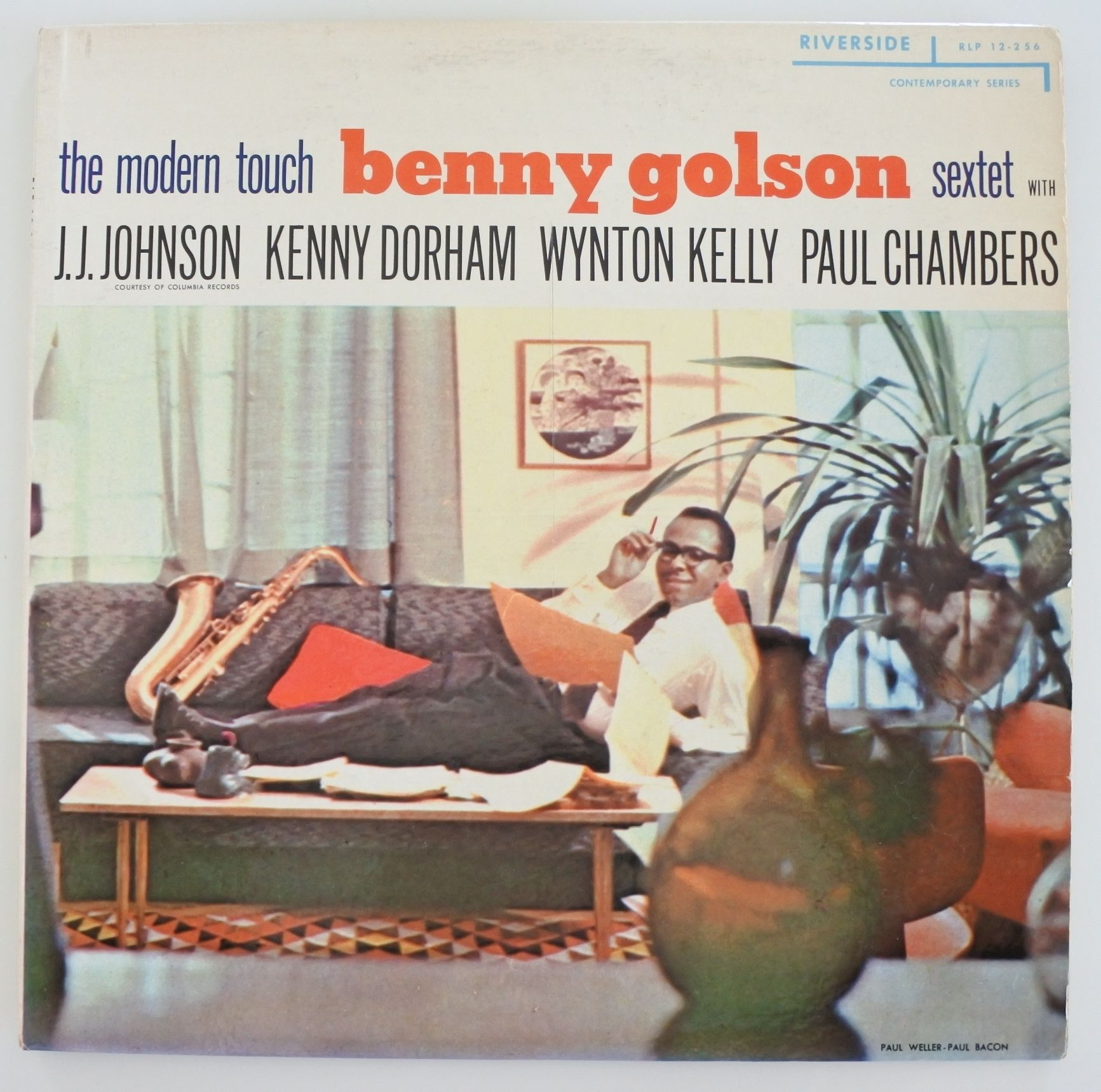 Benny Golson Sextet ?- The Modern Touch(Riverside Records ?- RLP 12-256)mono