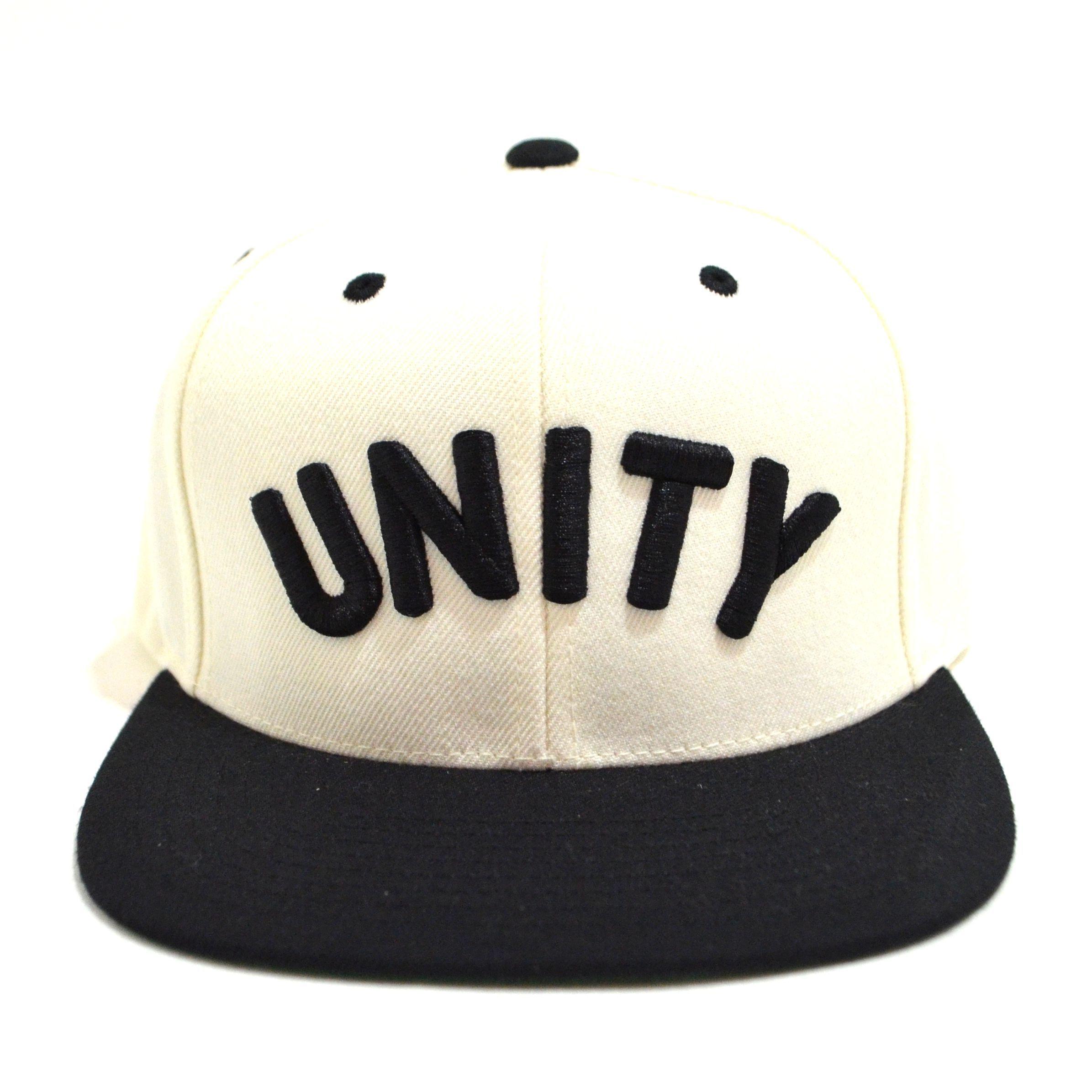 ACRYLICK SNAPBACK (UNITY) WHITE/BLACK