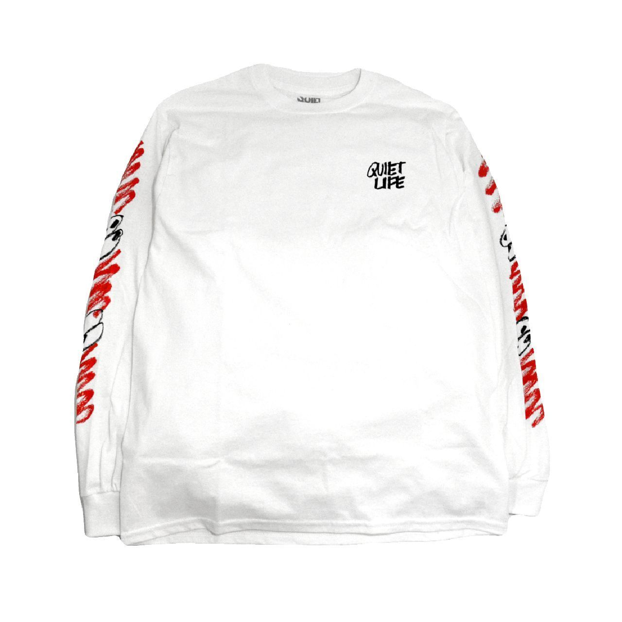THE QUIET LIFE L/S T-SHIRTS (THE QUIET LIFE X JAMES JARVIS) WHITE