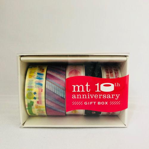 mt カモ井 マスキングテープ 10周年 ギフトボックス GIFT BOX 10th Anniversary ver.  (MT05G009)