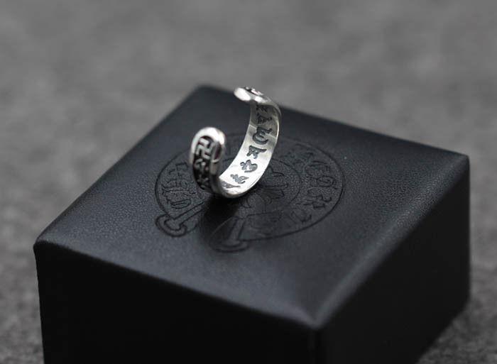 クロムハーツ新作 シルバー 指輪 高品質 調節可能
