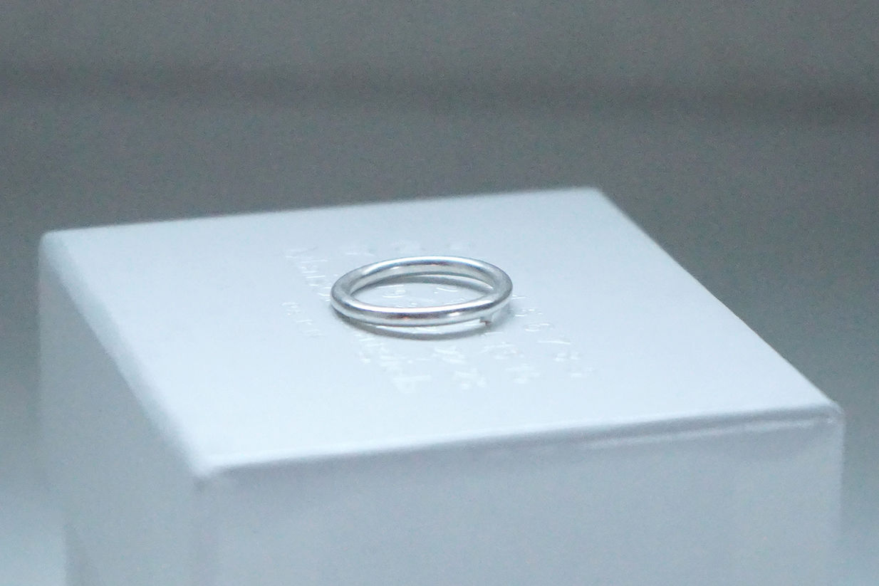 新品 Maison Margiela plain ring 5号