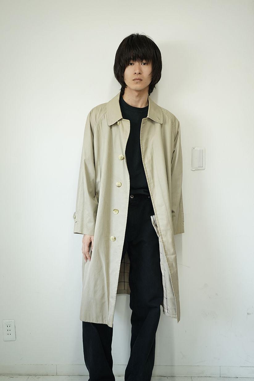 Burberry single coat