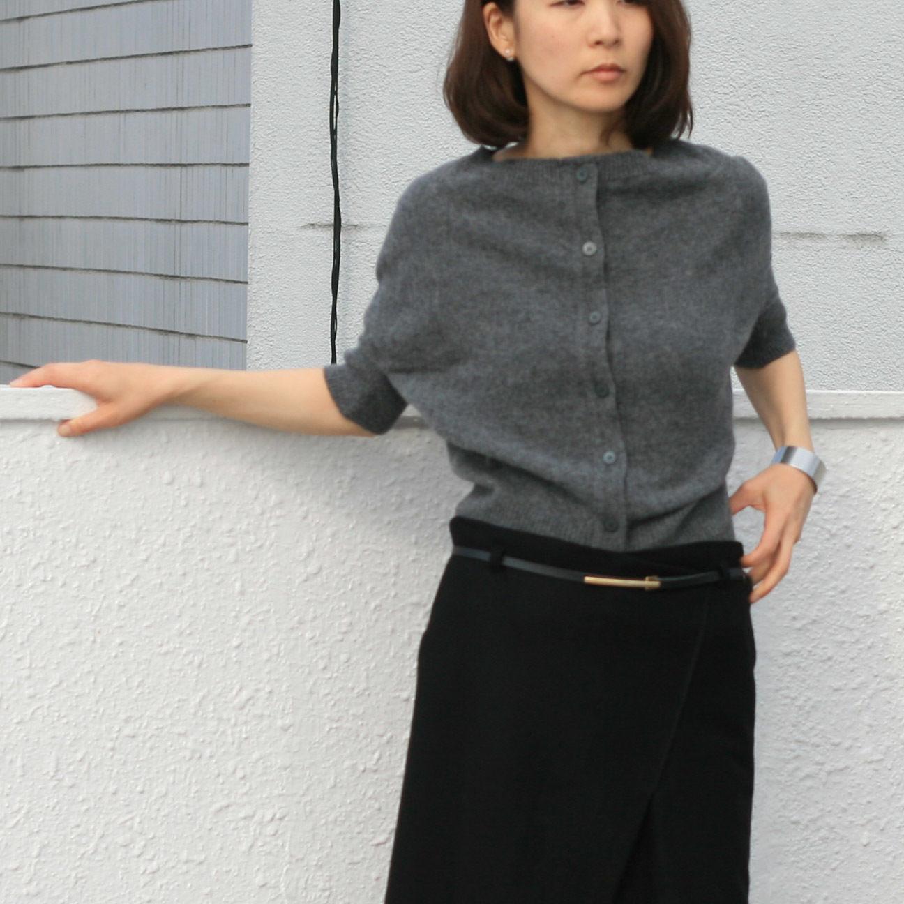 square cardigan