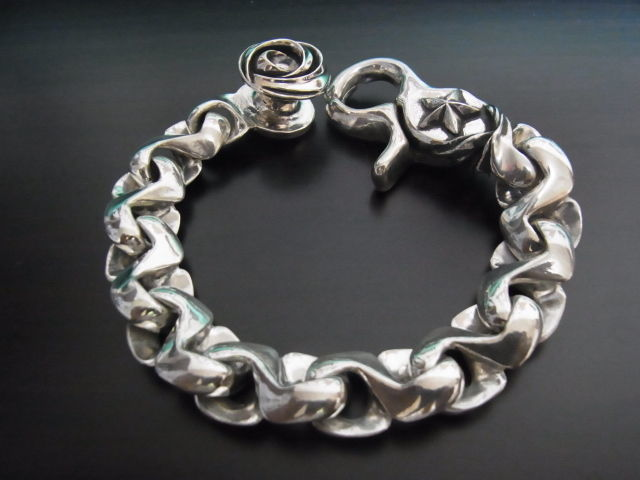 spiralclip bracelet